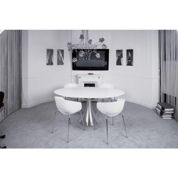 tafel Tafel Grande Possibilita White 180x100cm Kare Design tafels - 73567 - Lowik Meubelen