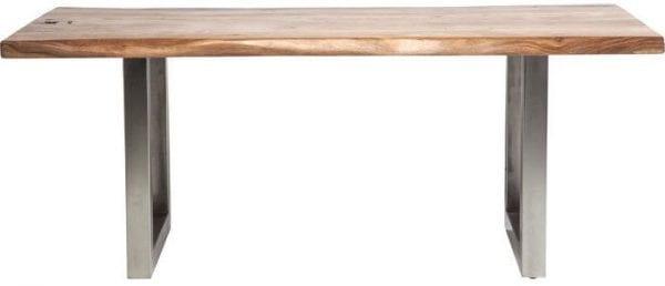 tafel Tafel Pure Nature 195x100cm 5cm Kare Design tafels - 78993 - Lowik Meubelen