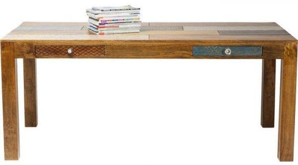 tafel Tafel Soleil 180x90cm 2Drw. Kare Design tafels - 80186 - Lowik Meubelen