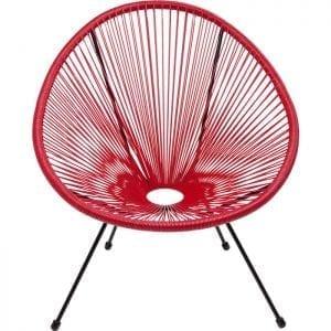 Kare Design Acapulco Cherry fauteuil 83987 - Lowik Meubelen