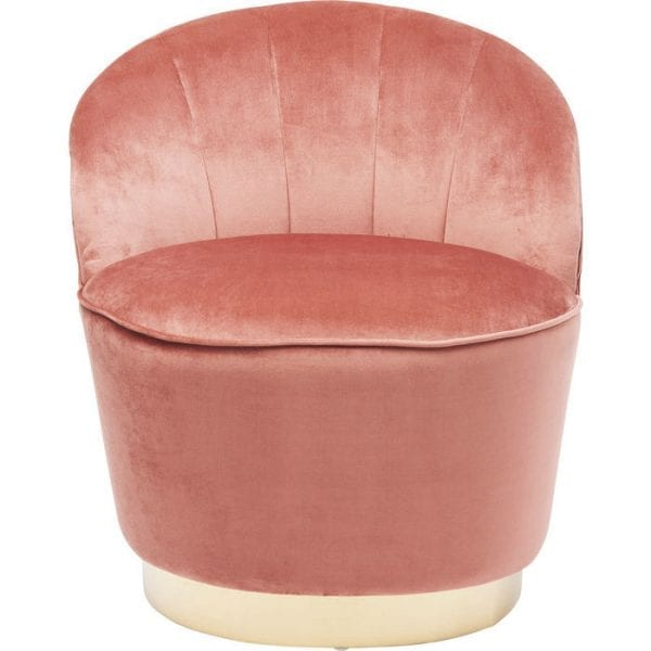 fauteuil Fauteuil Cherry Mauve Kare Design fauteuils - 84069 - Lowik Meubelen