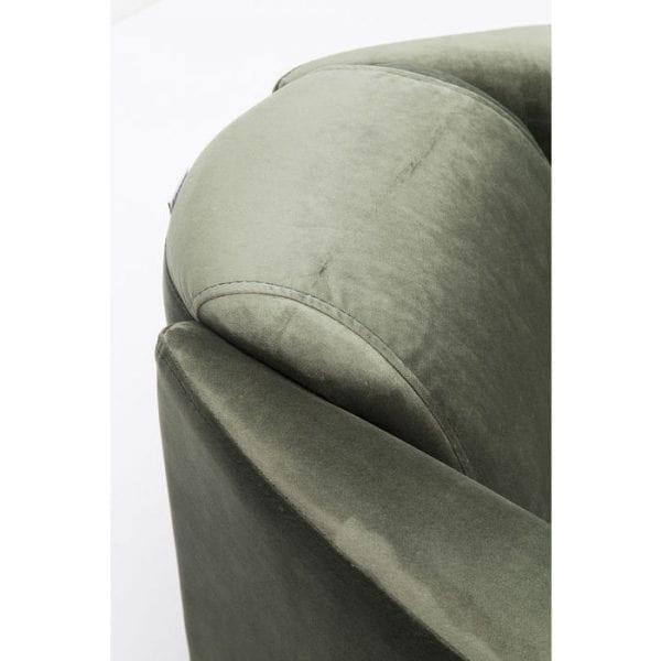 fauteuil Fauteuil Cigar Lounge Green Kare Design fauteuils - 83953 - Lowik Meubelen