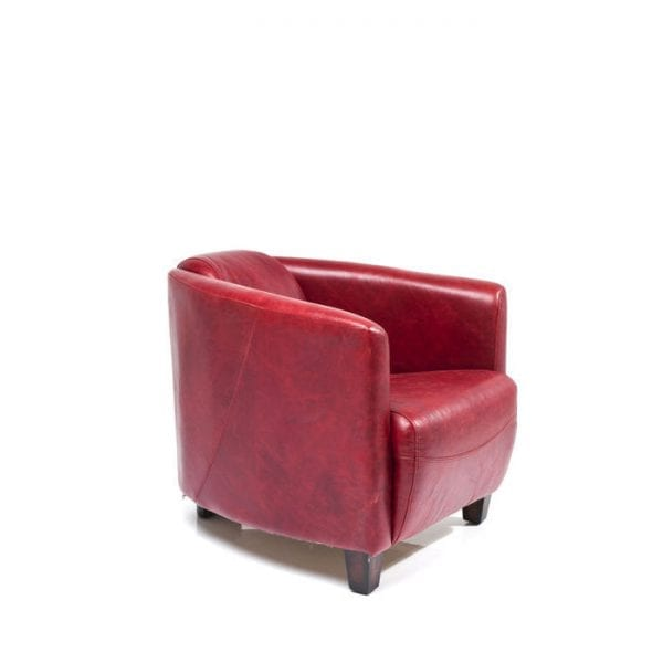 fauteuil Fauteuil Cigar Lounge Red Kare Design fauteuils - 78813 - Lowik Meubelen