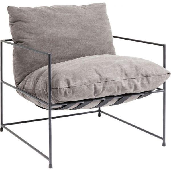 fauteuil Fauteuil Cornwall Kare Design fauteuils - 83117 - Lowik Meubelen