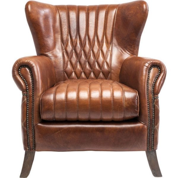 fauteuil Fauteuil Country Side Kare Design fauteuils - 79065 - Lowik Meubelen