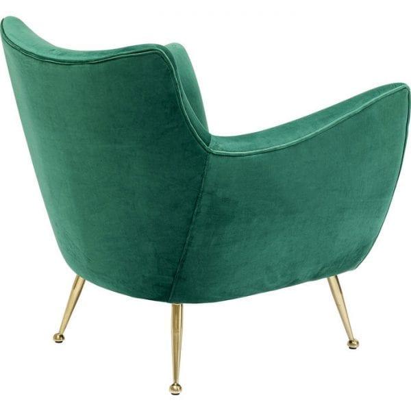 Kare Design Goldfinger Green fauteuil 85161 - Lowik Meubelen