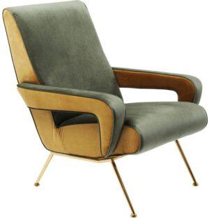 fauteuil Fauteuil Luna High Green Kare Design fauteuils - 84119 - Lowik Meubelen