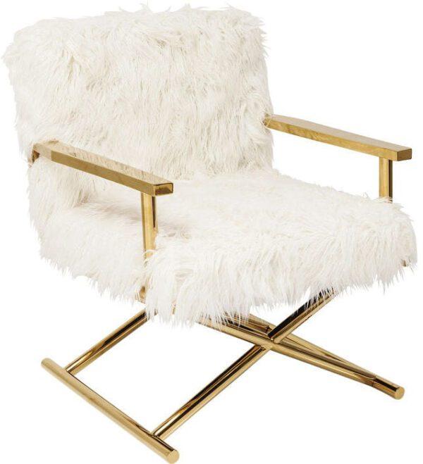 Kare Design Mr. Fluffy fauteuil 82669 - Lowik Meubelen