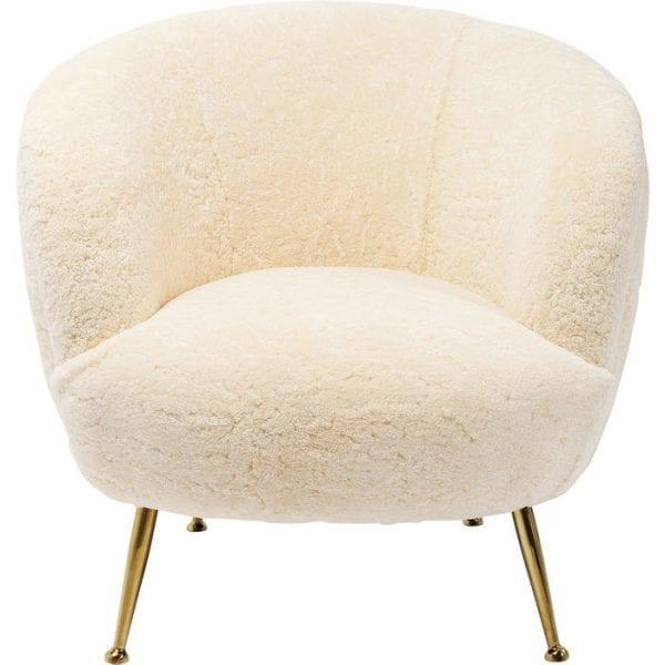 fauteuil Fauteuil Perugia Fur Kare Design fauteuils - 83098 - Lowik Meubelen