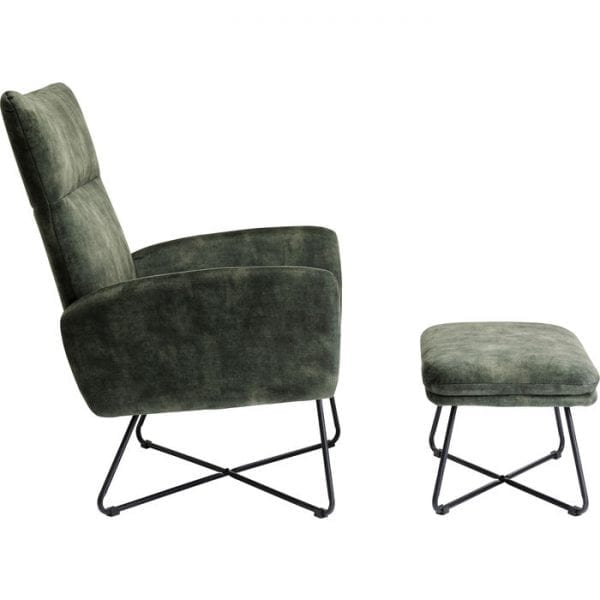 Kare Design & Poef Leeds eetstoel 85089 - Lowik Meubelen
