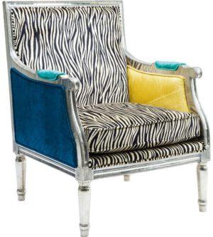 fauteuil Fauteuil Regency Zebra Kare Design fauteuils - 78128 - Lowik Meubelen