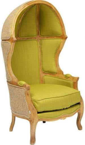 Kare Design Roof Green fauteuil 85072 - Lowik Meubelen