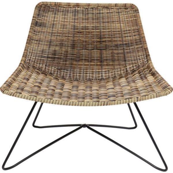 fauteuil Fauteuil Sansibar Lounge Kare Design fauteuils - 84116 - Lowik Meubelen