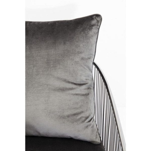fauteuil Fauteuil Sorento Grey Kare Design fauteuils - 84120 - Lowik Meubelen