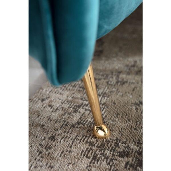 fauteuil Fauteuil Vegas Forever Bluegreen Kare Design fauteuils - 83532 - Lowik Meubelen