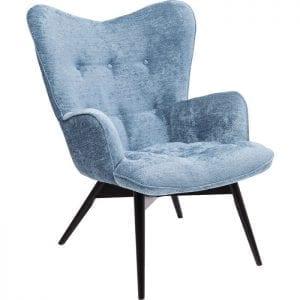 fauteuil Fauteuil Vicky Wilson Bluegreen Kare Design fauteuils - 84435 - Lowik Meubelen