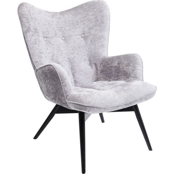 fauteuil Fauteuil Vicky Wilson Silver Kare Design fauteuils - 84432 - Lowik Meubelen
