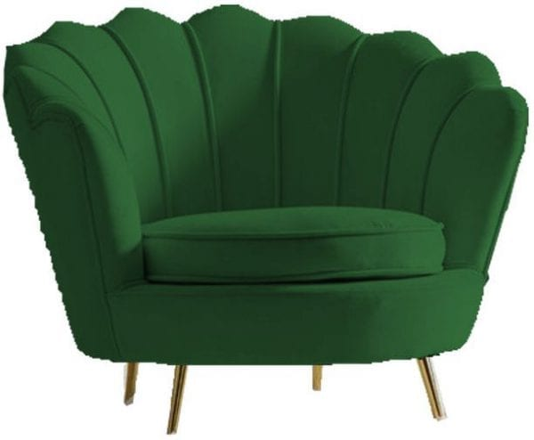 Kare Design Water Lily Dark Green fauteuil 85205 - Lowik Meubelen