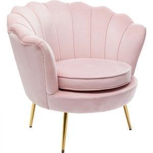 Kare Design Water Lily Rosa fauteuil 85193 - Lowik Meubelen