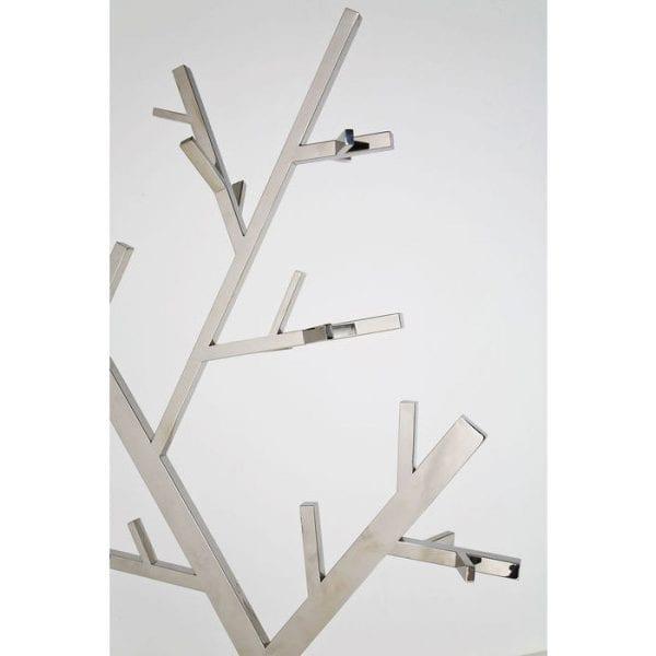 Kare Design Technical Tree Chrome kapstok 75356 - Lowik Meubelen