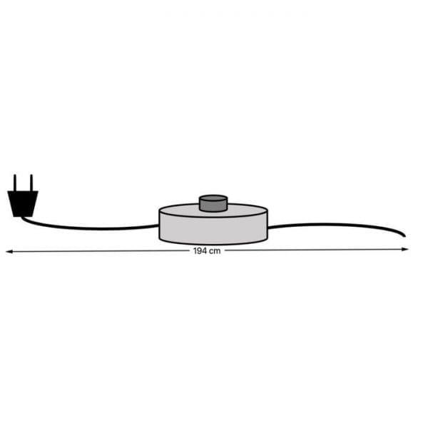 Wandklok Wonderland LED Rectangular  160x80cm 60744 Korpus: MDF (medium density fibreboard) gelakt, wijzerplaat: glas gespiegeld, wijzers: staal gelakt, zonder batterijen: batterij niet inbegrepen AA LR6 1,5V Mignon Kare Design