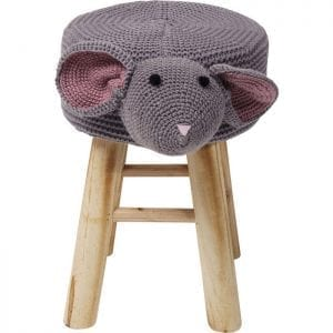 Kare Design Funny Mouse poef 83288 - Lowik Meubelen