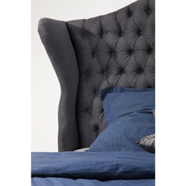Kare Design City Spirit Graphite 160x200cm bed 78106 - Lowik Meubelen