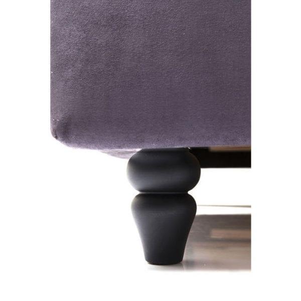 Kare Design City Spirit Graphite 180x200cm bed 78603 - Lowik Meubelen