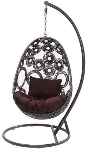 Kare Design Ibiza hangstoel 83869 - Lowik Meubelen