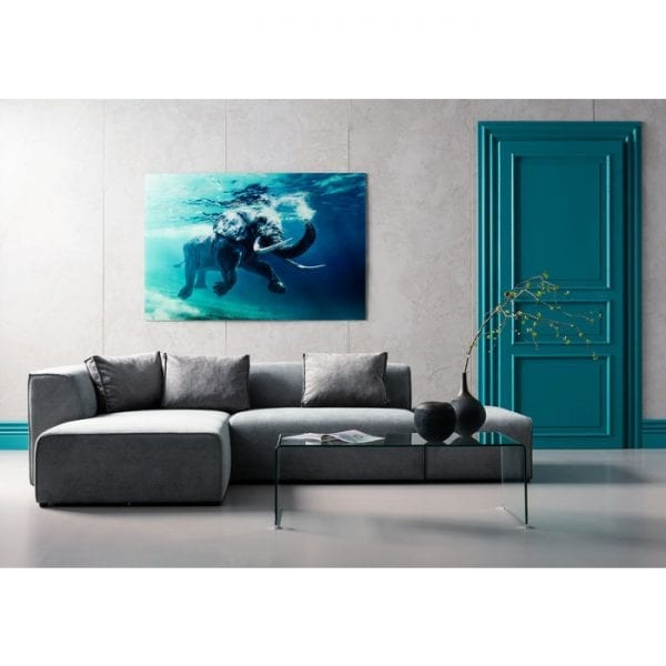 tafel Salontafel Clear Club Basic 120x60cm Kare Design tafels - 76716 - Lowik Meubelen