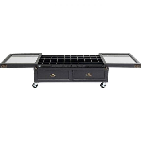 Kare Design Collector Double Black 101x56cm salontafel 84974 - Lowik Meubelen