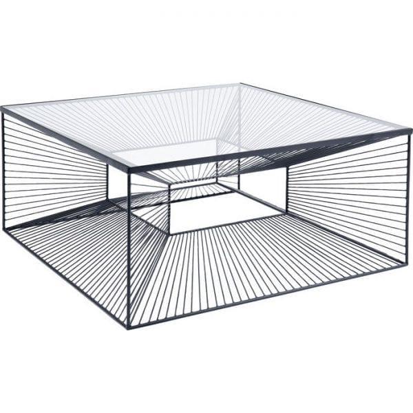 Kare Design Dimension 80x80cm salontafel 84752 - Lowik Meubelen