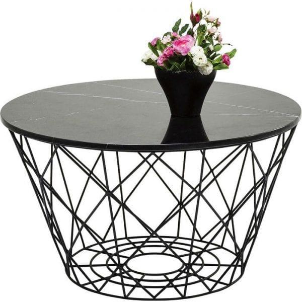 tafel Salontafel East Round (3/Set) Kare Design tafels - 81832 - Lowik Meubelen