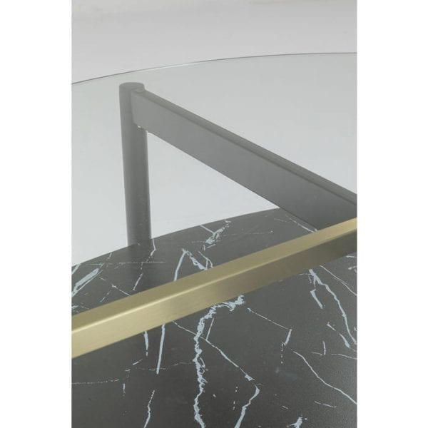 Kare Design Noblesse Oval 97x91cm salontafel 85187 - Lowik Meubelen