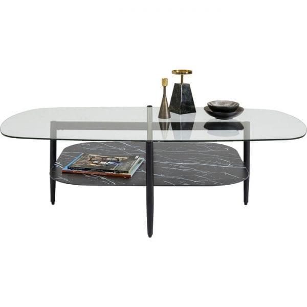 Kare Design Noblesse Rectangular 140x76cm salontafel 85188 - Lowik Meubelen