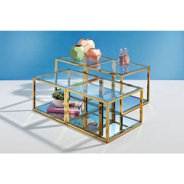 Kare Design Orion Gold (4/Set) salontafel 85198 - Lowik Meubelen