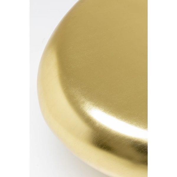Kare Design Pebble Gold 122x96cm salontafel 85119 - Lowik Meubelen