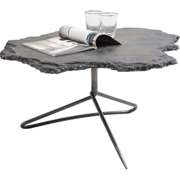 tafel Salontafel Vulcano 82x92cm Kare Design tafels - 82115 - Lowik Meubelen