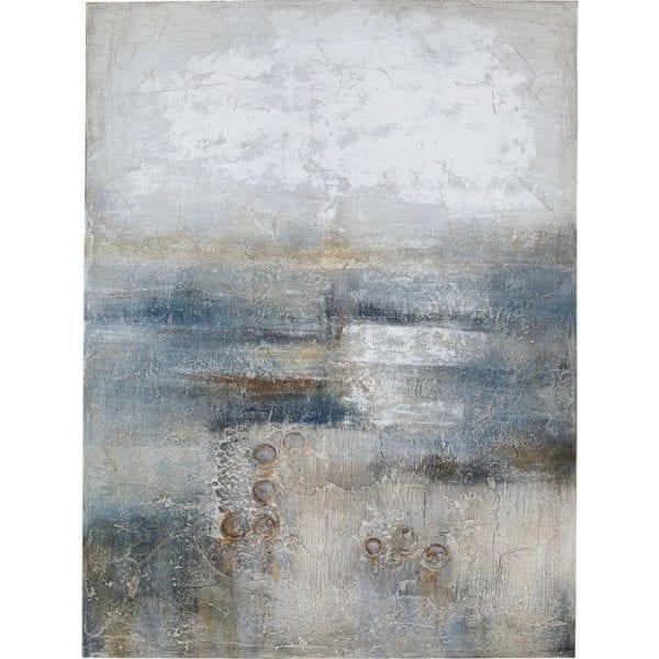 Kare Design Abstract Into The Night 120x90cm schilderij 51449 - Lowik Meubelen
