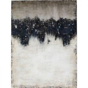 Kare Design Abstract Into The Sea 120x90cm schilderij 51450 - Lowik Meubelen