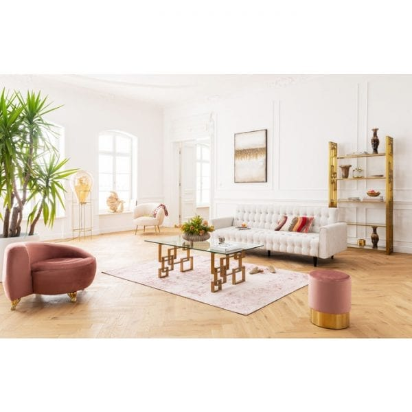 Kare Design Bed Milchbar Beige bank 80900 - Lowik Meubelen