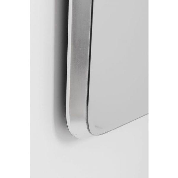 Kare Design Jetset Square Silver 94x64cm spiegel 81410 - Lowik Meubelen