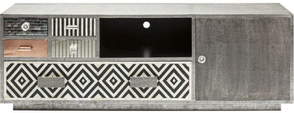 Kare Design Chalet 5Drw. 1Door tv-dressoir 80308 - Lowik Meubelen