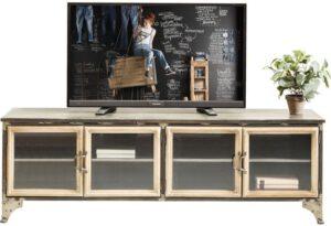 Kare Design Kontor Metal tv-dressoir 82620 - Lowik Meubelen