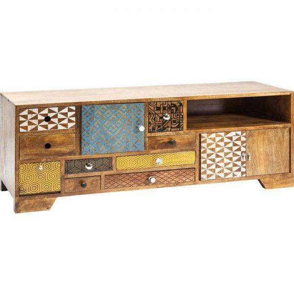 Kare Design Soleil 9Drw. 3Doors tv-dressoir 80190 - Lowik Meubelen