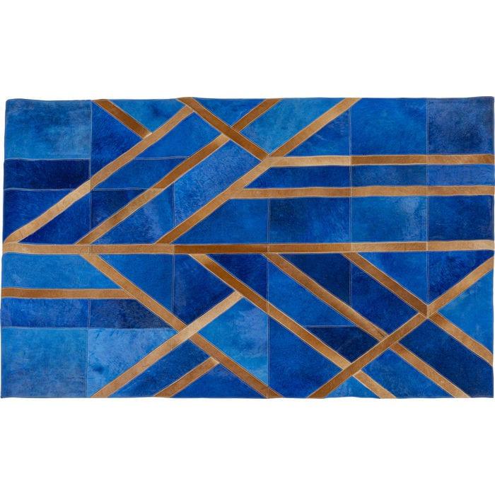 Vloerkleed Lines Blue 170x240cm