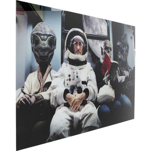 Kare Design Glass Freaks 120x180cm wanddeco 51869 - Lowik Meubelen