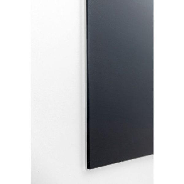 Kare Design Glass Savanne Zebra 120x120cm wanddeco 51814 - Lowik Meubelen