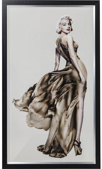 Wanddeco Marilyn - 172x100cm