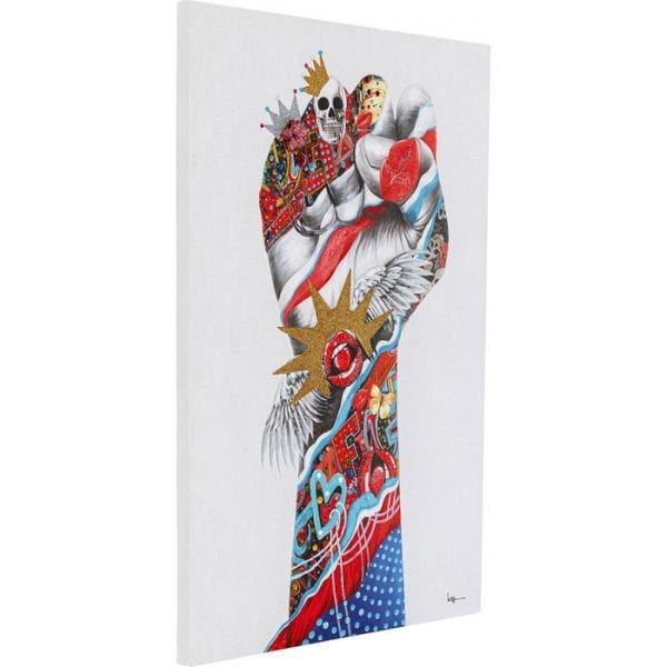 Kare Design Touched Fight For 120x80cm wanddeco 51857 - Lowik Meubelen